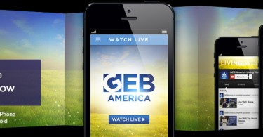 The GEB America app is available now for Android and iOS