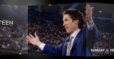 Joel Osteen Ministries - Sunday @ 12pm/11am CT