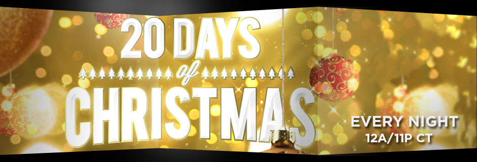20 Days of Christmas on GEB America Every Night at 12a/11p CT