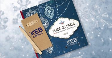 GEB America Special Christmas Coloring Book