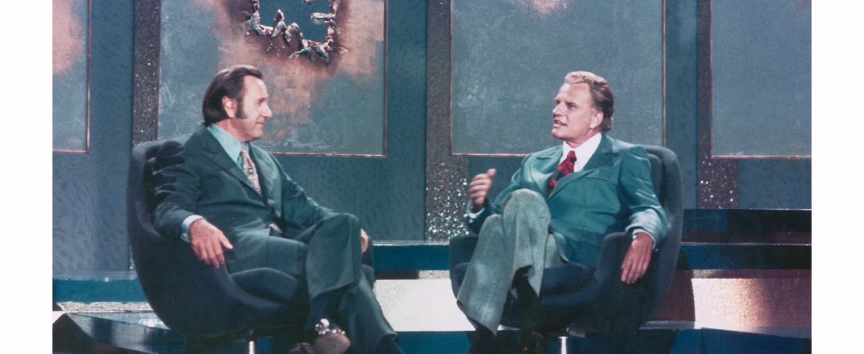 Oral Roberts and Billy Graham