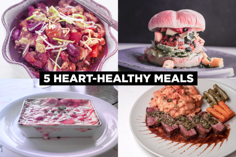 5 Heart Healthy Meals